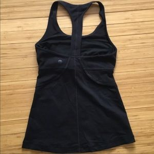 Lululemon Black workout top